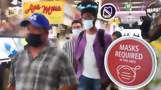 CDC advierte la necesidad de usar la mascarilla nuevamente en espacios públicos cerrados aunque estés vacunado