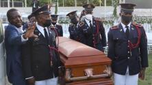 Disparos, bloqueos de calles y protestas civiles, así se vivió el funeral del presidente de Haití