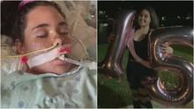 """""""Respira, esos pulmones son fuertes"""": el drama de una joven de 15 años contagiada de covid-19, que ahora lucha por su vida"""