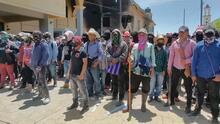 Civiles enmascarados asaltan y prenden fuego a casas de autoridades municipales en Pantelhó, México