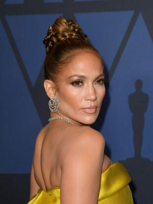 HOLLYWOOD, CALIFORNIA - OCTOBER 27: Jennifer Lopez attends the Academy Of Motion Picture Arts And Sciences' 11th Annual Governors Awards at The Ray Dolby Ballroom at Hollywood & Highland Center on October 27, 2019 in Hollywood, California. (Photo by Kevin Winter/Getty Images)