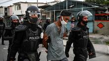 Se intensifica la represión en Cuba: el régimen sigue deteniendo a más personas tras las masivas protestas del domingo