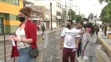 Miles de jóvenes entre 18 y 29 años abarrotan las sedes de vacunación contra covid-19 en México