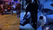 """(VIDEO) """"Armados hasta las teretas"""" Ofrecen detalles sobre incidente donde dos policías fueron atropellados en Santurce"""