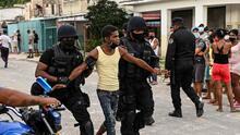 Página web documenta más de 700 detenciones y desapariciones en Cuba tras las protestas del 11 de julio