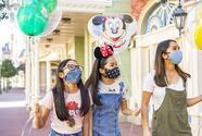 Si vas a Disney en Orlando tienes que ponerte máscara aunque estes vacunado contra el coronavirus