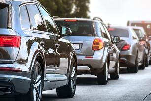 Car,Rush,Hours,City,Street.,Cars,On,Highway,In,Traffic
