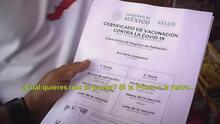 Delincuentes están comercializando falsos certificados de vacunación contra el coronavirus en México