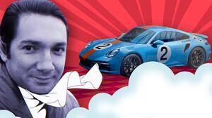 Porsche rinde homenaje a piloto mexicano con un filme animado y un carro único en el mundo